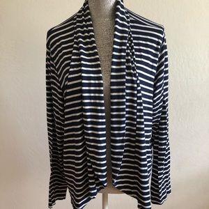 Stripes fenn Wright Manson women 2X cardigan